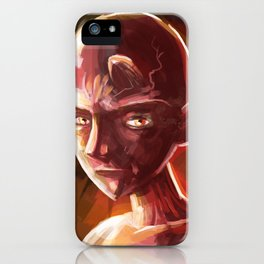 little young teen devil iPhone Case