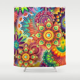 Psychedelia 67 Shower Curtain