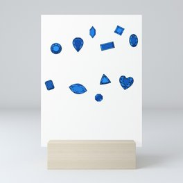 September Birthstone Mini Art Print