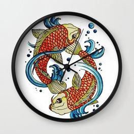 Peaces Wall Clock