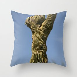 Crested Throw Pillow