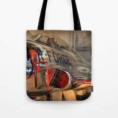 1960's Training Jet. Chrome Plated! Tote Bag