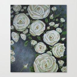 Iceberg Roses Canvas Print