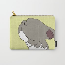Sunny The Pitbull Puppy Carry-All Pouch