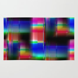 Multicolored abstract no. 36 Rug
