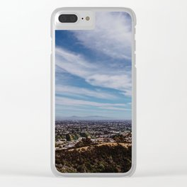 San Diego Lookout pt.3 Clear iPhone Case