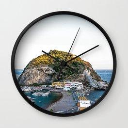 Sant'Angelo d'Ischia stunning village in summer Wall Clock