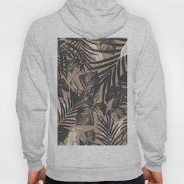 Tropical Jungle Leaves Pattern #2 #tropical #decor #art #society6 Hoody