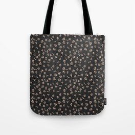 Skull Town (on Charcoal Grey Background) Tote Bag