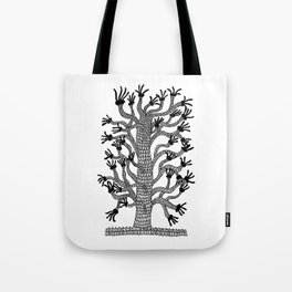 Handy Tree Tote Bag