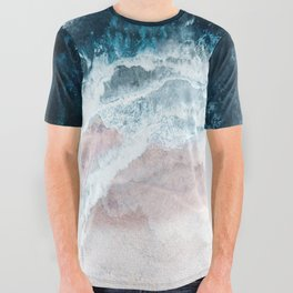 Blue Sea II All Over Graphic Tee
