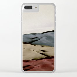 dunes 2 Clear iPhone Case