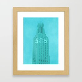 Time Square Building Rochester NY Framed Art Print