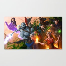 Ready for Battle Canvas Print