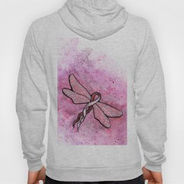 basal and squamous cell carcinoma awareness ribbon Hoody