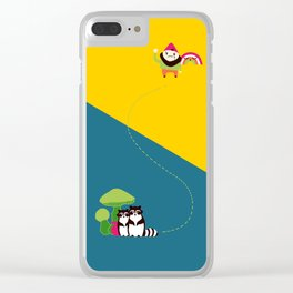 The Angry Gnome Clear iPhone Case
