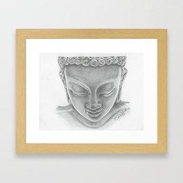 Quiet Buddha Framed Art Print