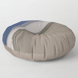 Sophisticated Ocean View Floor Pillow