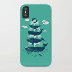 Whale of a Time iPhone X Slim Case