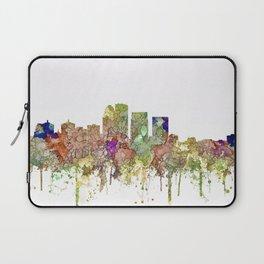 Louisville, Kentucky Skyline - Faded Glory Laptop Sleeve