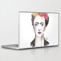 frida Laptop & iPad Skins featuring Frida by SirScm