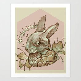 Conejito Art Print