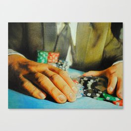 All In (Debt) Canvas Print