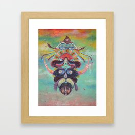 I KNOW MYSELF  Framed Art Print