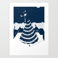 Christmas Tree Art Print
