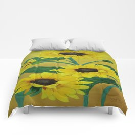 Sunny and bright Comforters