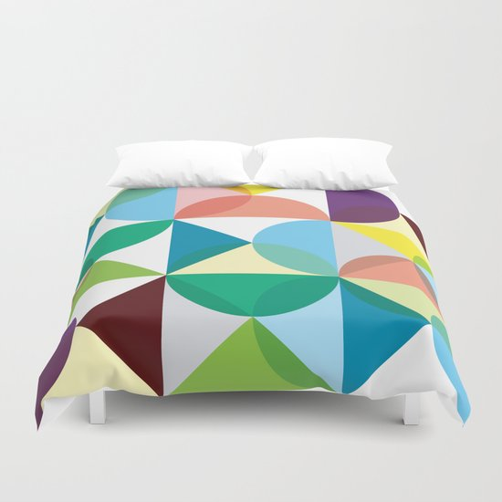 Geometry for Modern Houses (2010) Duvet Cover