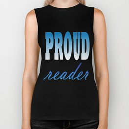 Proud reader Biker Tank