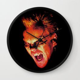 The Lost Boys David Stained Glass Wall Clock