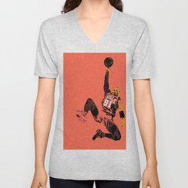 "Rodman Art and Poster AKA ""The Worm"" Unisex V-Neck"