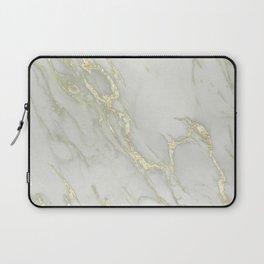 Marble Love Gold Metallic Laptop Sleeve