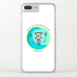 Stoked Clear iPhone Case