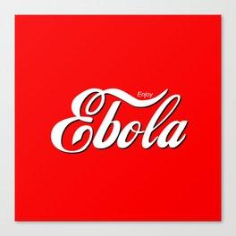 Ebola Canvas Print