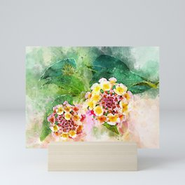 Lantana Mini Art Print