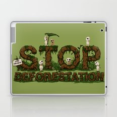 Save Kodamas Laptop & iPad Skin