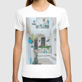 Italian Beach Town Street T-shirt
