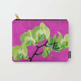Orchid, green Carry-All Pouch