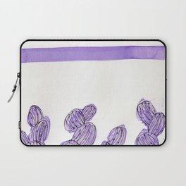 Purple rainbow cactus Laptop Sleeve
