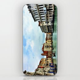 Gondolier on the Grand Canal - Venice iPhone Skin