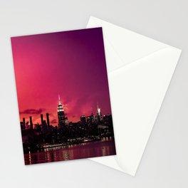 New York Crazy Sunset Stationery Cards