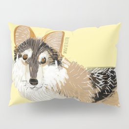 Mexican Wolf (Canis lupus baileyi) (TOPOS) Pillow Sham