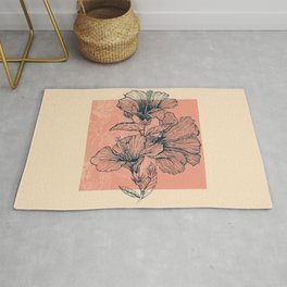 Hibiscus Colors Rug