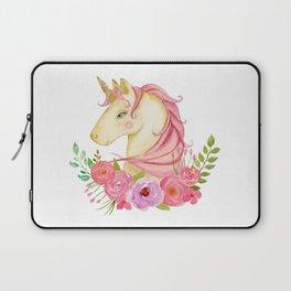watercolor unicorn Laptop Sleeve