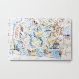 Mosaic of Barcelona XVII Metal Print