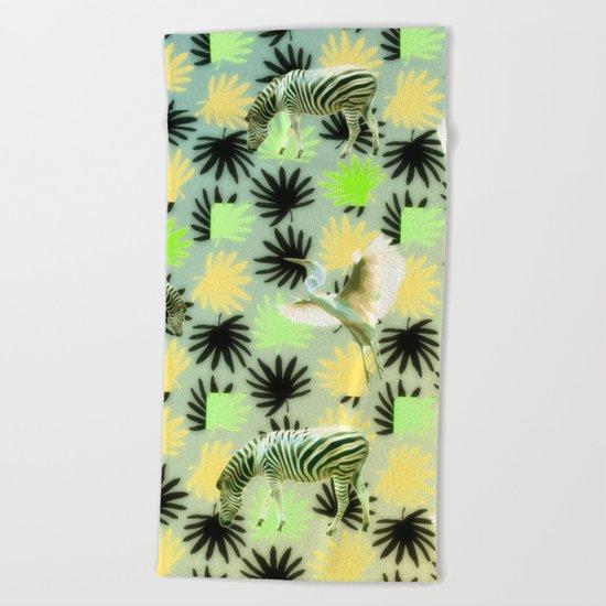 Savannah Pattern Beach Towel