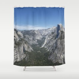 Half Dome from Glacier Point Shower Curtain